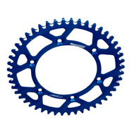 SUPERSPROX YAMAHA YZ/YZF/WR/WRF BLUE ALLOY REAR SPROCKET- choose gearing