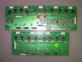 VIZIO E550VL MASTER1 & MASTER2 INVERTER BOARD SET VIT71881.00 / 1954T01006 & VIT71881.01 / 1954T01008 REV:6
