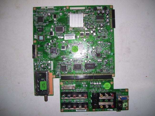 Hitachi 26hdl32 Main Amp Av Board Pwb 0885 05 Amp Pwb 0887 01
