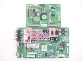 LG 50PQ30-UA MAIN BOARD & LOGIC BOARD COMBO EAX58259505(0) & EAX60966001 / EBT60683105 & EBR61784801