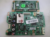 SAMSUNG PN51E450A1FXZA MAIN & LOGIC BOARD SET BN41-01799B & LJ41-10184A / BN94-06039B & LJ92-01883A