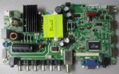 CHANGHONG LED40YD1100UA MAIN BOARD/POWER SUPPLY 931A4XJ0 / JUC7.820.00119472