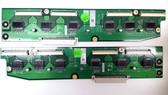 PIONEER PDP6100HD BUFFER BOARD SET NPC1-51108 / PKG61C2E1 & NPC1-51109 / PKG61C2E2
