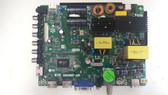AVERA 50AER10 MAIN BOARD / POWER SUPPLY TP.MS3393.PC822 / B16010201