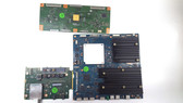 SONY XBR-55X900BT MAIN / TUS & TCON BOARD SET 0-000-000-06 / 0-224-129-16 / 5555T17C01