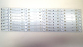 TCL 50FS3800 LED LIGHT STRIPS SET OF 8 50D2700 / 50HR330M05A0 V2