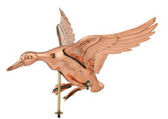 Weathervane - Polished - Landing Duck
