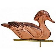 Weathervane - Polished - Wood Duck