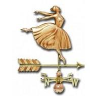 Weathervane - Polished - Dancer