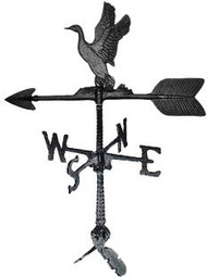 Weathervane: 24in. Duck With Mount