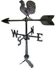 Weathervane: 24in. Rooster With Mount