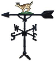 Weathervane: 32in. Buck With Mount