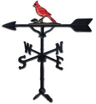 Weathervane: 32in. Cardinal With Mount