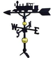 Weathervane: 32in. Deluxe Train / Locomotive With Mount