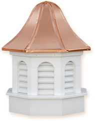 Cupola - Azek Pinnacle - Gazebo - 30Lx30Wx59H