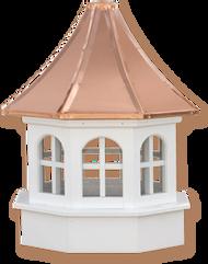 Cupola - Azek Salisbury - Gazebo - 24Lx24Wx47H