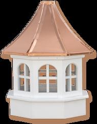 Cupola - Azek Salisbury - Gazebo - 48Lx48Wx90H