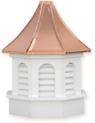 Cupola - Azek Kingston - Gazebo - 48Lx48Wx90H