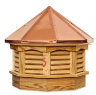 Gazebo cupola - Treated pine - copper top 21in.