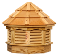 Gazebo cupola - Treated pine - cedar top 21in.