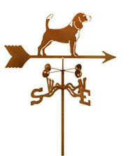 Dog-Beagle Weathervane with mount
