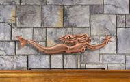 Mermaid with Starfish Mantel Weathervane