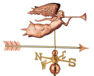 Angel with Arrow Weathervane