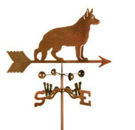 Dog-German Shepherd Weathervane with mount