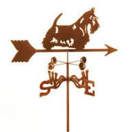Dog-Scottie Weathervane with mount