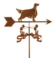 Dog-Setter Weathervane with mount