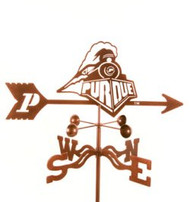 Purdue Boilermakers Logo Weathervane With Mount