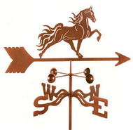 Horse-Tennessee Walker Weathervane With Mount