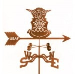 Air Force - Original Logo Weathervane With Mount