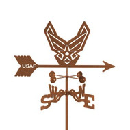Air Force - Modern Logo Weathervane With Mount