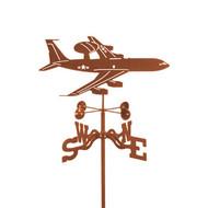 Airplane-AWACS Weathervane w/mount