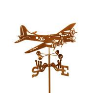 Airplane-B-17 Weathervane w/mount