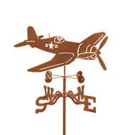 Airplane-Corsair Weathervane w/mount