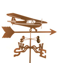Airplane-High Wing Weathervane With Mount