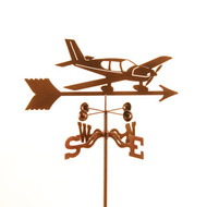 Airplane-Low Wing Weathervane w/mount