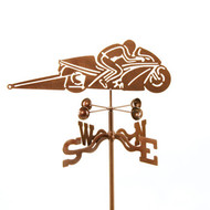 Pro Stock Motorcycle Weathervane With Mount