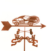 Race Car Weathervane With Mount