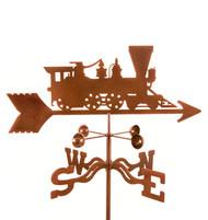 Train Weathervane With Mount