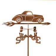 Car-Willys Weathervane With Mount