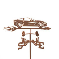 Car-Corvette C6 Weathervane With Mount
