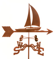 Sailboat Weathervane With Mount