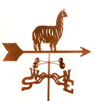 Alpaca/Llama Weathervane With Mount