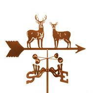 Deer-Standing Weathervane With Mount