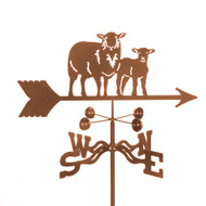 Sheep Weathervane With Mount