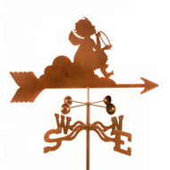 Angel on Cloud Weathervane With Mount