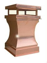 Chimney Pot - Copper Curved  22 in.X35